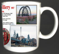 HORDEN COLLIERY COAL MINE MUG LIMITED EDITION MINERS GIFT PETERLEE COUNTY DURHAM