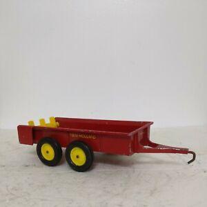 1/16 Ertl Farm Toy New Holland Manure Spreader Tandem Axle original
