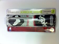 8 VENTE EN LOT NEUF OFFICIEL CHICAGO BLANC Sox MLB PLAQUE FRONTALE POUR XBOX 360