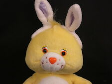 YELLOW SUNSHINE FUNSHINE CARE BEAR BUNNY COSTUME RABBIT EARS  PLUSH STUFFED TOY