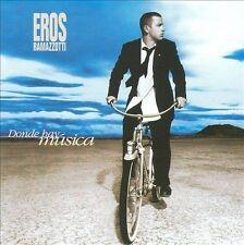 Donde Hay Música by Eros Ramazzotti (CD, 1996, Arista, Canada)