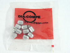 Dia Compe Ferrules Round For Aero Gran Compe Levers Vintage Bike NOS 10 Pack