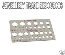 JEWELLERS JEWELLERY DIAMOND CARAT PEARL MEASURING GAUGE
