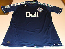 MLS Soccer Vancouver Whitecaps Youth  Jersey XL Road