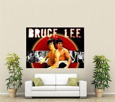 Bruce Lee Artes Marciales Gigante 1 pieza de arte de pared Cartel C102
