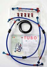 KIT FRENTUBO TUBI FRENO TRIUMPH SPEED TRIPLE T 509 955 98-01 DIRETTI TIPO 3