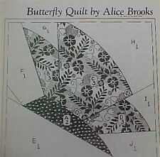 Vintage Quilt Pattern Mail Order Pieced Butterfly Block Design Quilter Sew 30s