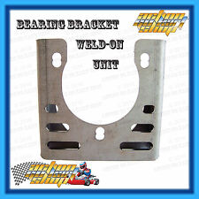 GO KART WELD ON BEARING BRACKET HANGER BUILD PROJECT OFF-ROAD BUGGY 30-50MM AXLE
