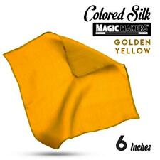 Golden Yellow 6 inch Colored Silk Single