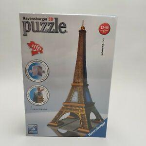Ravensburger 3D Puzzle - La Tour Eiffel Tower Brand New Sealed 216 pieces
