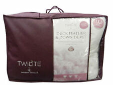 & Feather Mix Patternless Down Duvets