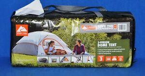Ozark Trail 3 Person Dome Tent Camping