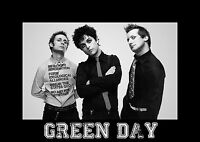 GREEN DAY Poster Print Picture A3 260GSM