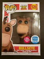 Funko POP Disney Toy Story Flocked Bullseye Funko Shop Exclusive