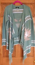 GUC  Forever 21 Cardigan Sweater  Aztec Print  Size M
