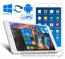 "8"" Inch Cube Air FullHD TABLET PC White 32GB/2GB Intel WINDOWS 10 & ANDROID 5.1"