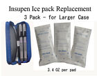 Diabetic Insulin Pen Ice Gel Pack- 3Pack REPLACEMENT-L