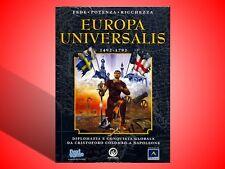 EUROPA UNIVERSALIS 1492 - 1792 EDIZIONE CARTONATA PC NUOVO! VERSIONE ITALIANA!
