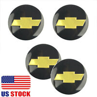 "4x 2.5"" 65mm Auto Wheel Center Hub Cap Emblem Badge Decal Sticker for Chevrolet"