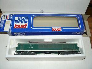 train électrique HO sncf JOUEF  locomotive CC 6551 Maurienne verte