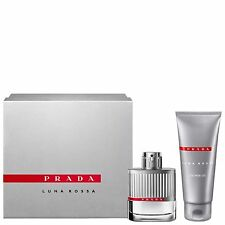 NEW Prada Luna Rossa EDT Spray 50ml gift set Fragrance FREE P&P