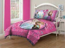 Disney Princess Elsa Anna 4pc Frozen Full Comforter Bedding Set Bed in a Bag