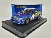 Slot car Scalextric AUTOart 13007 Subaru Impreza WRC #8 Montecarlo 2003 Mäkinen