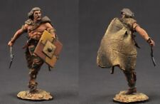 Tin toy soldiers  painted 54 mm barbarian