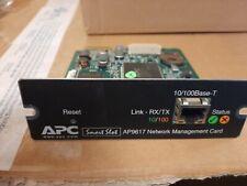 APC AP9617 USV Netzwerk-Management-Karte, APC Smart-Slot, o. weiteres Zubehör!