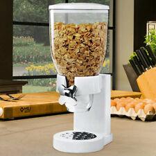 Dispenser Cereali Singolo Contenitore Dosatore Distributore Storage Pasta Bianco