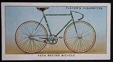 PATH RACING BICYCLE    Original 1930's Vintage Card    CAT A