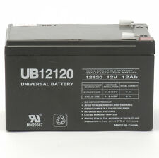 UPG UB12120F2 12V 12Ah F2 Wheelchair Scooter Battery Replaces Interstate DCM0012