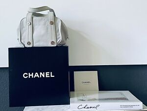 💯AUTHENTIC Chanel Leather Bag with Silver Hardware Excellent condition