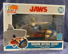 Funko Pop Shark Biting Quint - Jaws - 2019 Convention Exclusive