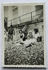 Ault Somme Manche Vintage Private Family Snapshot holidays vacances 1937