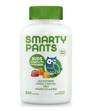 Smarty Pants Children's Kids Complete Multivitamins Minerals w DHA 180 Gummies