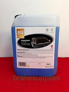 GENUINE AUTOGLYM WINDOW CLEANER 5 LITRE GLASS CLEAN  *FAST DISPATCH*