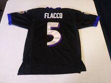 b1657d291 EUC STITCHED REEBOK  5 JOE FLACCO BALTIMORE RAVENS NFL JERSEY YOUTH SIZE  MEDIUM
