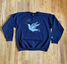 Only Ny Dove and Olive Branch Blue Crewneck Size Large Pre Owned Only Ny