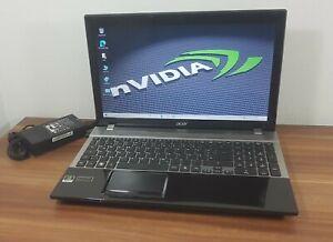 Gaming Acer V3-571G i5 2,5-3,1GHz 8GB SSD 256GB nVidia GeForce GT 630M Wlan uvm.