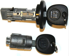NEW CHEVROLET OEM IGNITION SWITCH LOCK CYLINDER + DOOR LOCK CYLINDER + 2 GM KEYS
