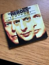 Philip Glass The Music Of David Bowie & Brian Eno Heroes Symphony DIGIPK MINT