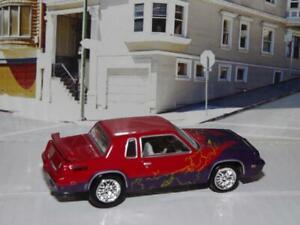 1984 OLDSMOBILE CUTLASS SUPREME V-8 X-MEN ED. DIE CAST MUSCLE CAR! SUPER RARE