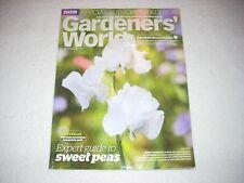 Gardeners World Magazine July 2016 Sweet Peas Guide Subsciber Edition