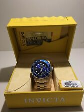 Invicta Men's Grand Diver, Blue Dial Stainless Steel - Preowned