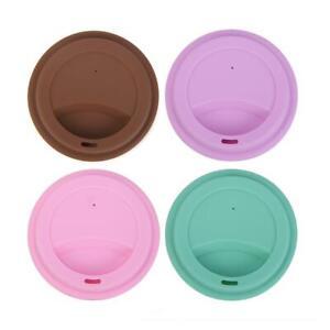 ❤ Multi-type Reusable Silicone Cup Lid Tea Cup Cover Anti-dust Coffee Mug Sea