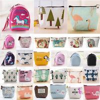 Women Cute Change Coin Small Purse Wallet Key Card Holder Handbag Pouch Bag New