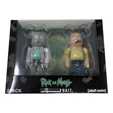 BAIT Medicom BE@RBRICK Rick and Morty 100% Bearbrick Figure Set