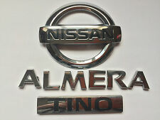 "NISSAN ALMERA ""TINO""  REAR BADGE 84890BU700 (B243)"