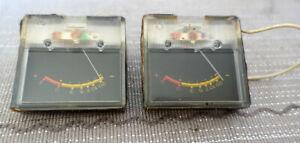 VU-Meter links und rechts für Tonbandgerät SONY TC377